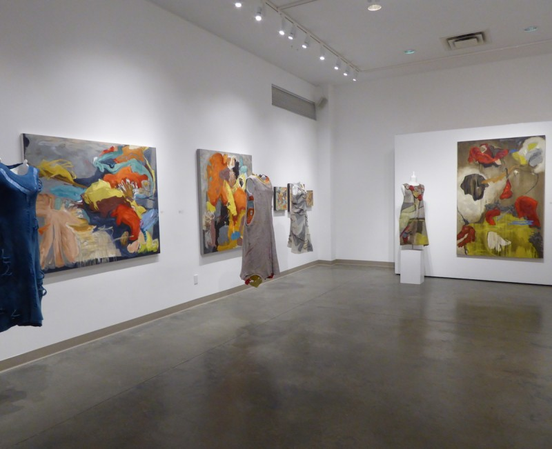 Seymour art gallery, shift exhibition, Vancouver, Canadian contemporary artist Barbra Edwards, Fiona Duthie