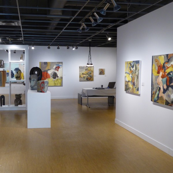 Debut show at Bugera Matheson, contemporary, abstract artist Barbra Edwards
