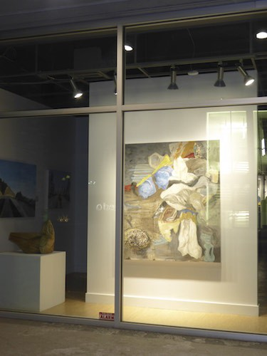 Spring 2015 Opening at Bugera Matheson Gallery, with Canadian abstract artist Barbra Edwards