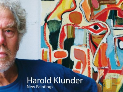 Canadian artist Harold Klunder visits Barbra Edwards West Coast studio