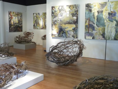 In the Skin of the Forest - Show by Barbra Edwards on Salt Spring Island, BC