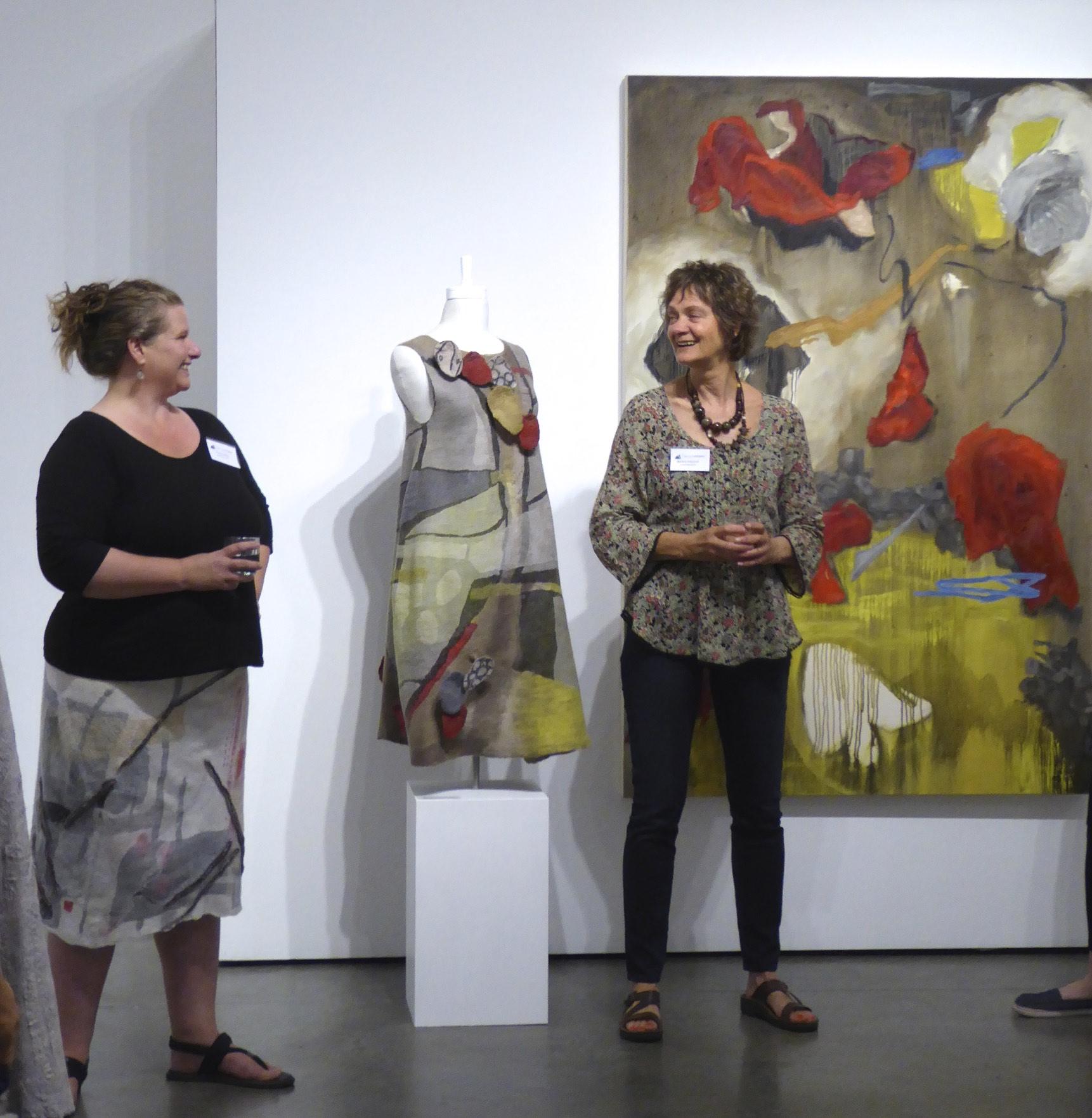 Seymour art gallery, shift exhibition Vancouver, artist talk, Canadian contemporary artist Barbra Edwards
