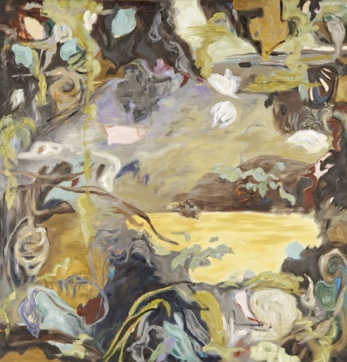 Sooke Fine Arts show, juried show, 27th year contemporary painter Barbra Edwards