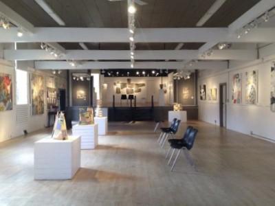 5 women in abstraction exhibition on Salt Spring Island artist barbra edwards