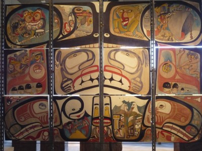 barbra edwards at Museum of Anthropology at UBC, Vancouver